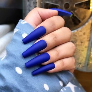 Glamscape 5 Minute Press on Nails in Bangladesh - Nails with Glue - Electric Blue