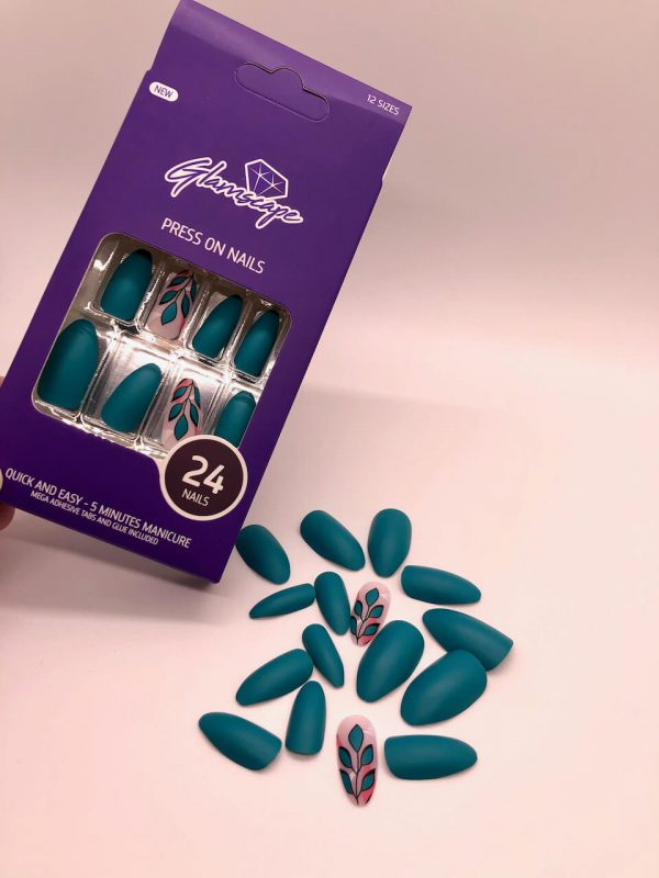Glamscape 5 Minute Press on Nails in Bangladesh - Nails with Glue - Orchard Bliss