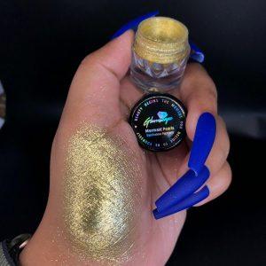 Glamscape-Platinum-stars-Eyeshadow-Pigment-Gold Mine